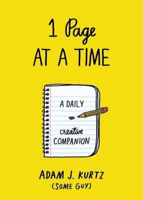 1 Page at a Time  A Daily Creative Companion