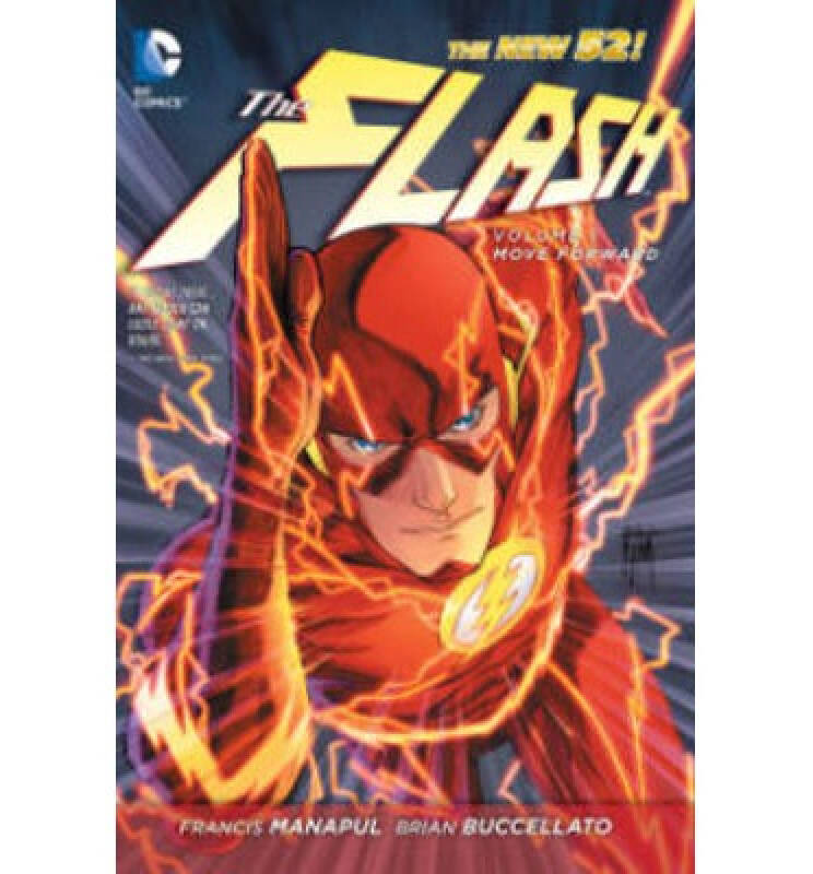 The Flash Vol. 1: Move Forward (The New 52) 英文原版