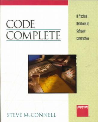 代码大全(Code Complete)
