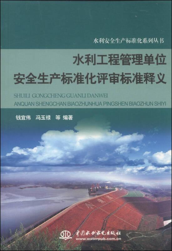 水利安全生产标准化系列丛书:水利工程管理单位安全生产标准化评审标准释义