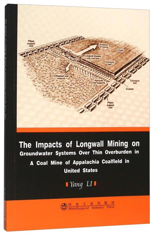 美国阿拉巴契亚煤田浅埋煤层长壁开采对地下水影响研究(英文版)