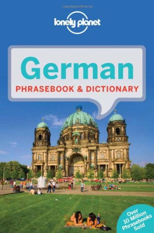 Lonely Planet: German Phrasebook孤独星球旅行指南:德语常用语手册