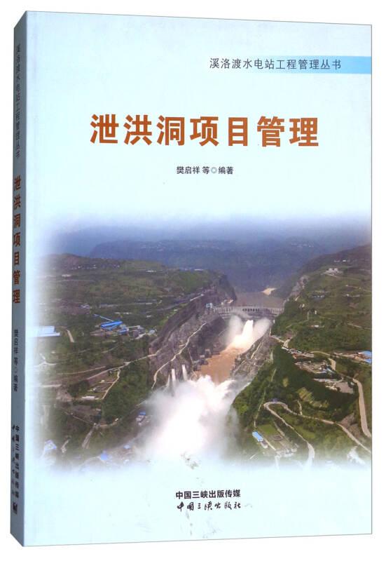 泄洪洞项目管理/溪洛渡水电站工程管理丛书