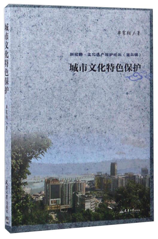 城市文化特色保护/新视野·文化遗产保护论丛