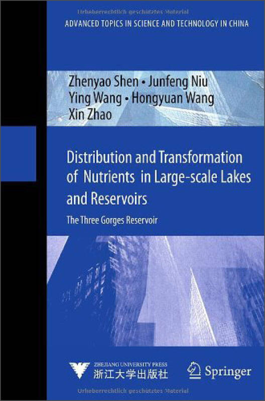 Distribution and Transformation of Nutrients in Large-scale Lakes and Reservoirs