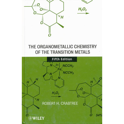 The Organometallic Chemistry Of The Transition Metals, Fifth Edition