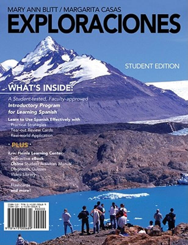 Exploraciones (with Ilrn Heinle Learning Center Printed Access Card)