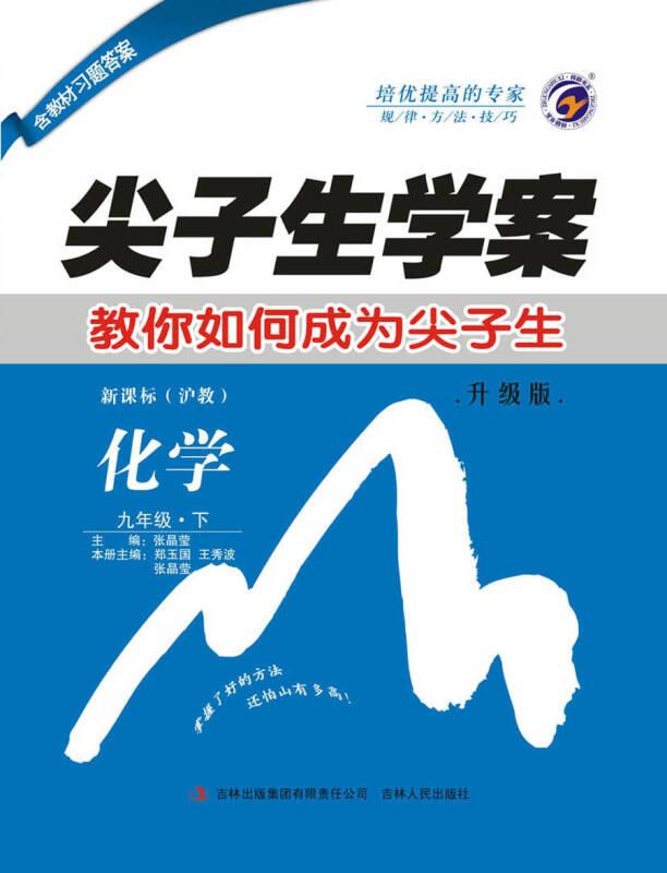 尖子生学案上海教育版九年级化学(下)