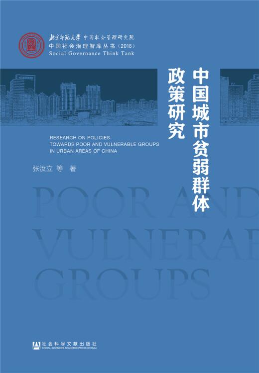 中国城市贫弱群体政策研究