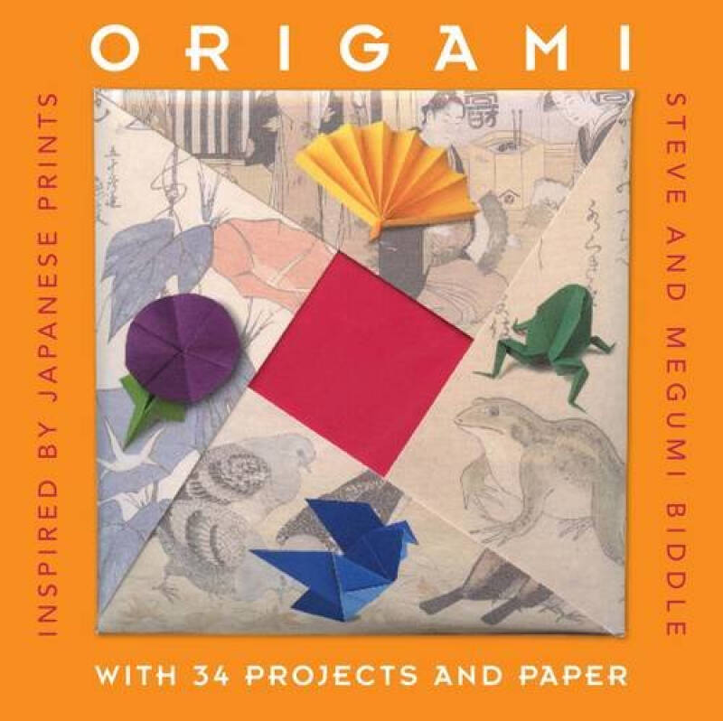 Origami: Inspired by Japanese Prints (Gift Sets)[折纸:来自日本版画的灵感]