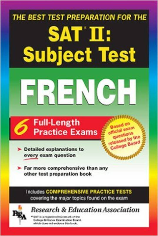The Best Test Preparation for the Sat II  Subjec