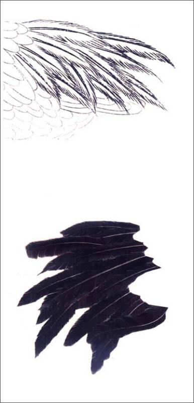 中国画技法:工笔仙鹤画法