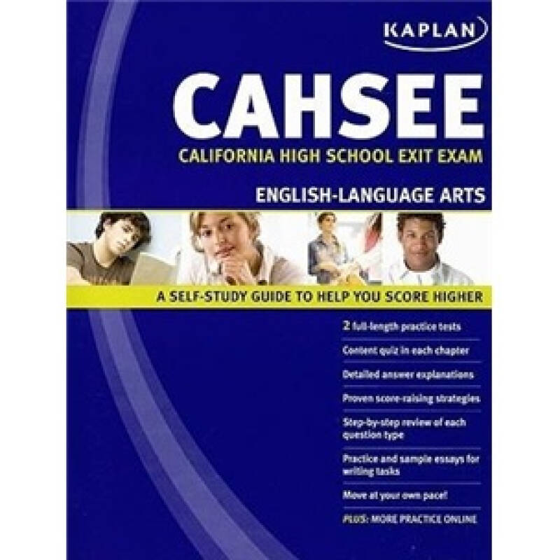 Kaplan CAHSEE English Language Arts: California High School Exit Exam