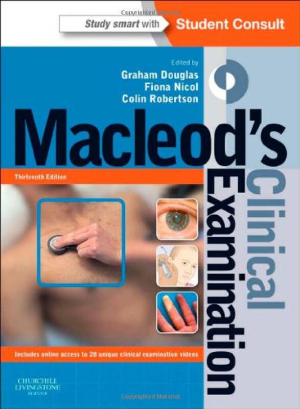 Macleods Clinical Examination: With Student Consult Online Access, 13e