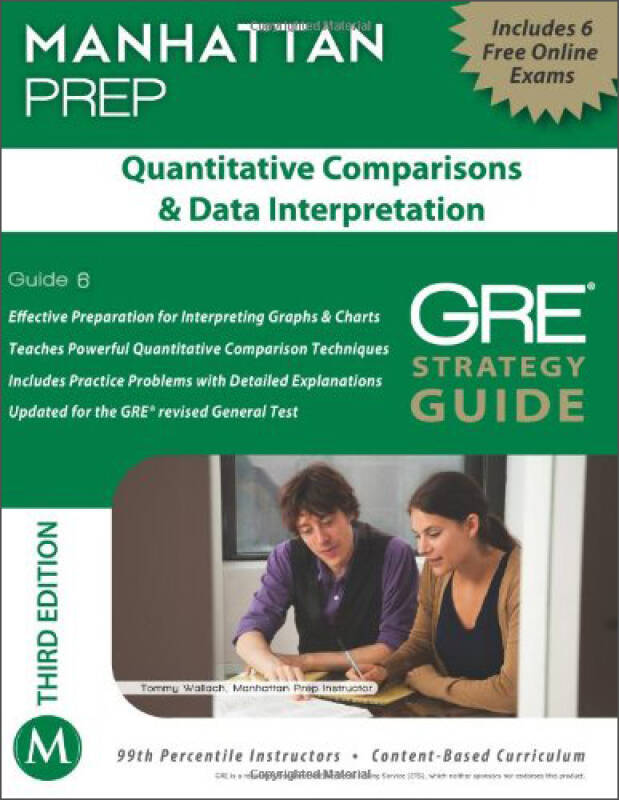 Quantitative Comparisons & Data Interpretation GRE Strategy Guide, 3rd Edition