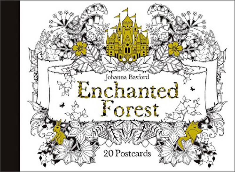 Enchanted Forest : 20 Postcards魔法森林 20张明信片