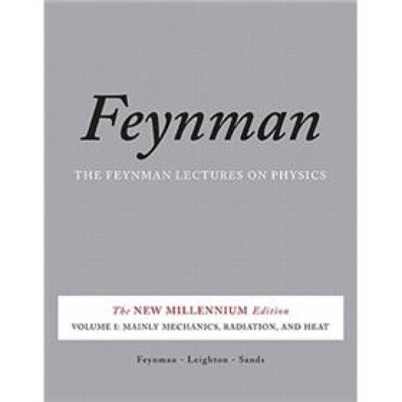 Feynman Lectures on Physics, Vol. I
