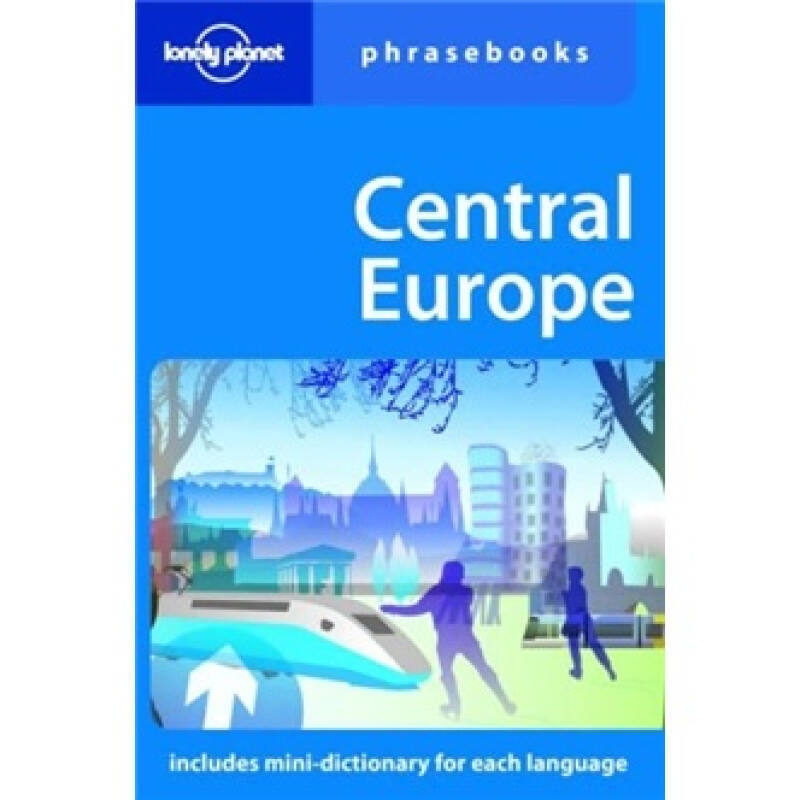 Lonely Planet: Central Europe Phrasebook孤独星球中欧常用语手册