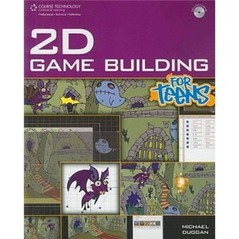 2D Game Building for Teens (Course Technology)