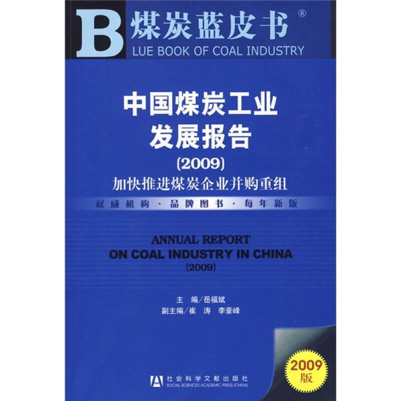 中国煤炭工业发展报告2009:加快推进煤炭企业并购重组(2009版)