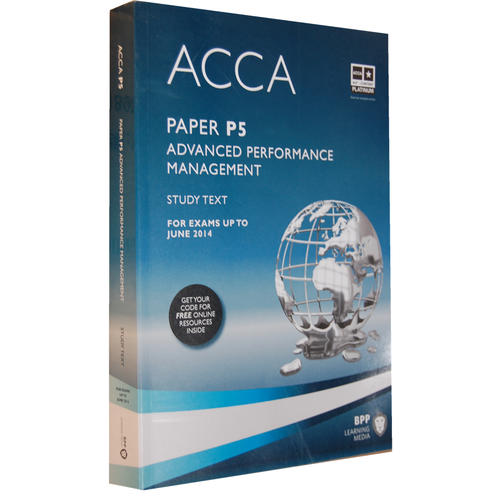 ACCA P5 Advanced Performance Management  (Study Text) 英文版高级业绩管理 教科书