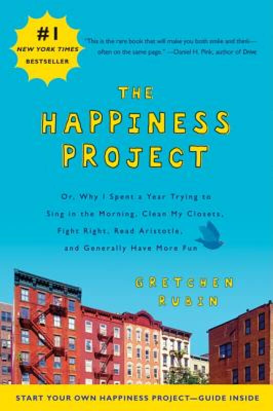 The Happiness Project快乐计划 英文原版
