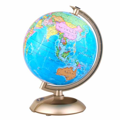 博目地球仪:20cm新课标学生专用灯光地球仪(高清大字)