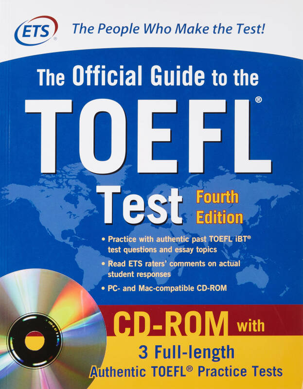 The Official Guide to the TOEFL Test (Book + CD)