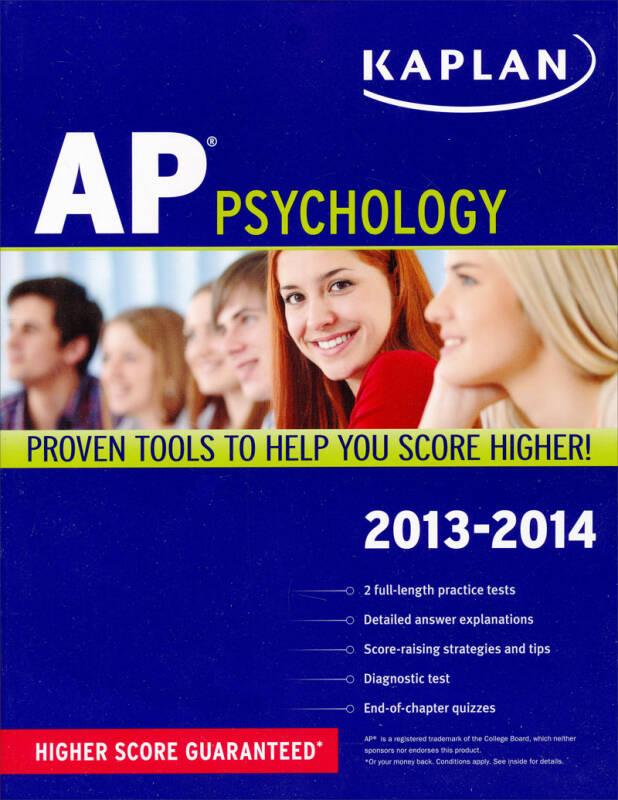 Kaplan AP Psychology 2013-2014
