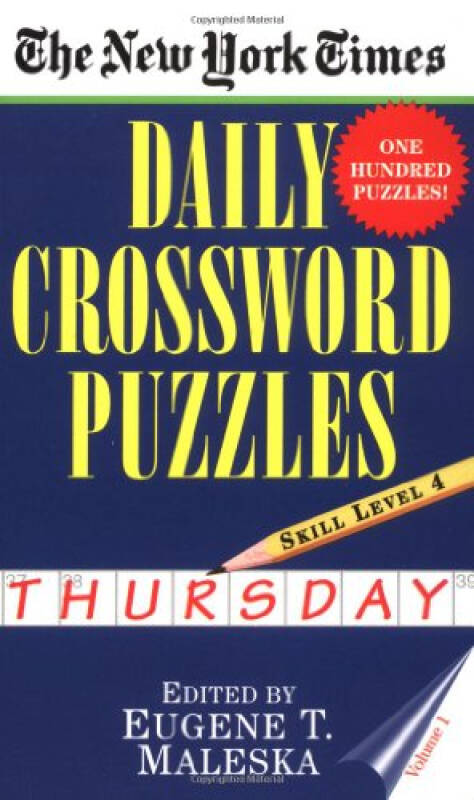 The New York Times Daily Crossword Puzzles (Thur