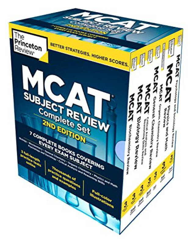 MCAT SUB REV BOXED SET 2ED