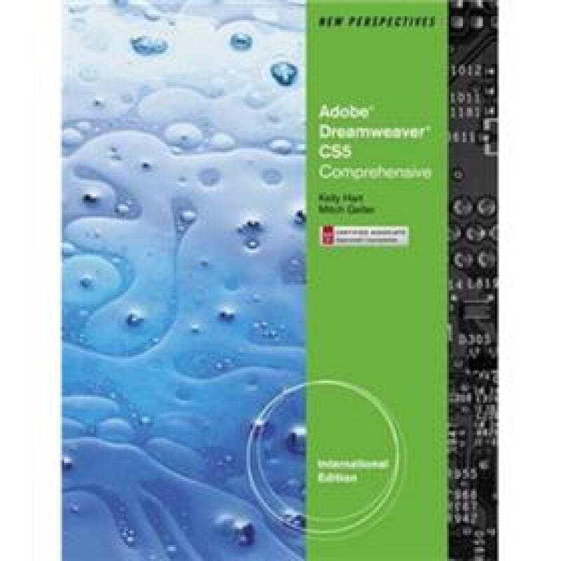 New Perspectives on Adobe Dreamweaver CS5 Comprehensive International Edition