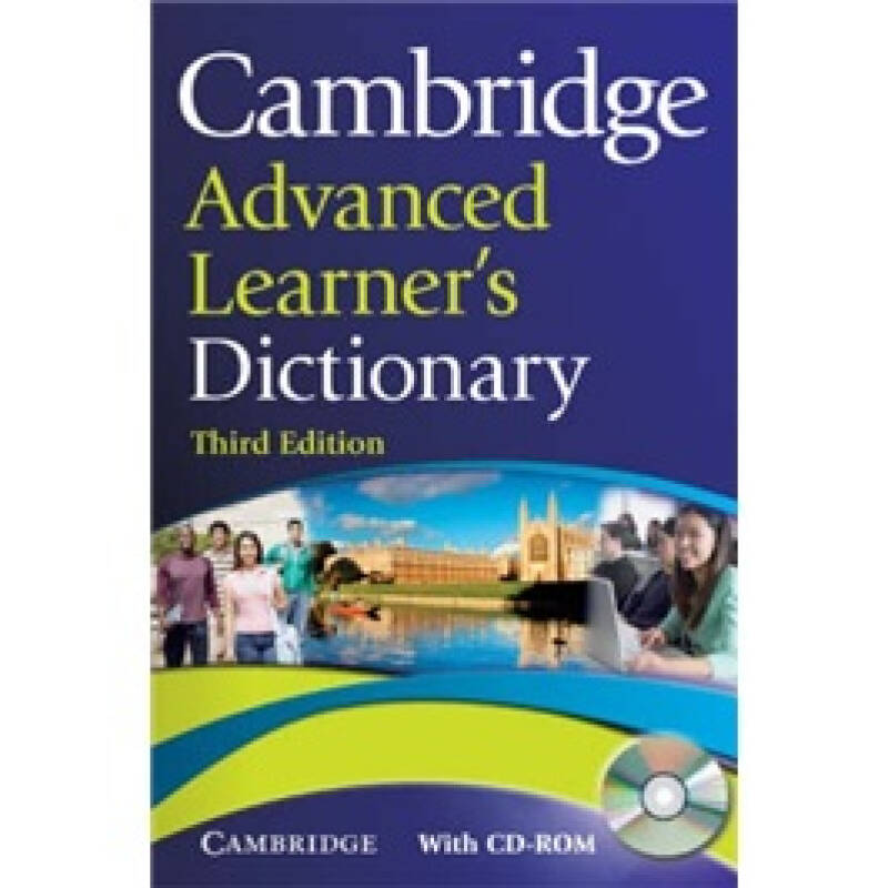 Cambridge Advanced Learners Dictionary with CD-ROM (3rd Edition)  剑桥高阶学习字典