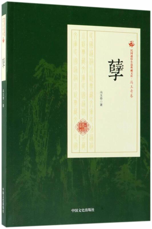 孽/民国通俗小说典藏文库·冯玉奇卷