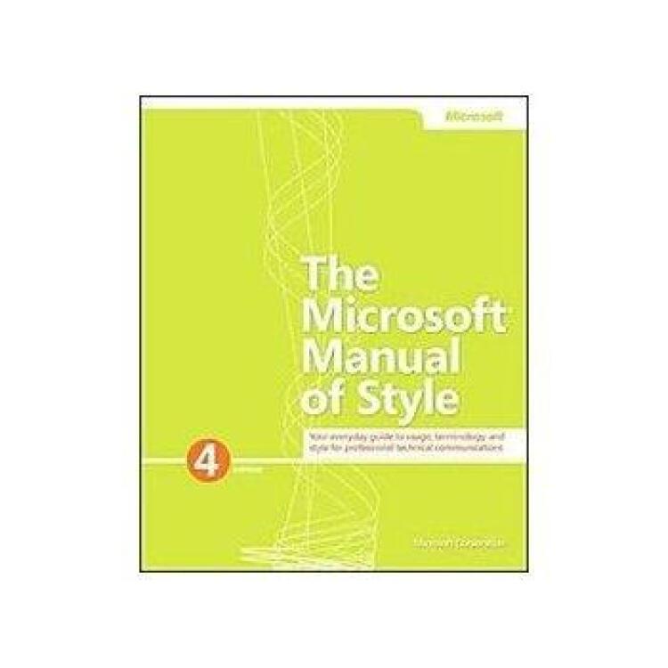 MicrosoftManualofStyle