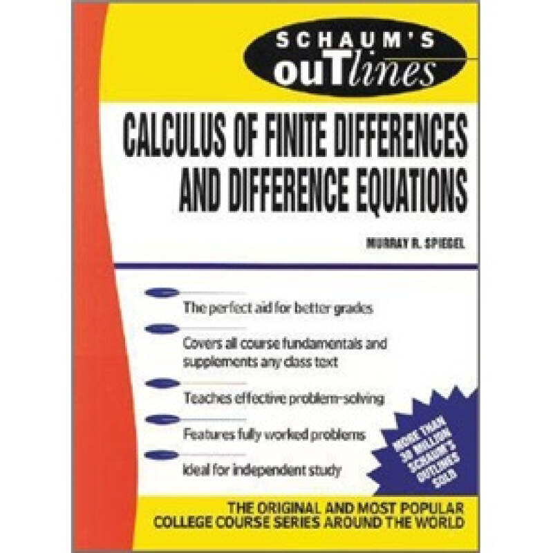 Schaums Outline of Calculus of Finite Differences and Difference Equations