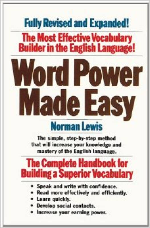 Word Power Made Easy: The Complete Handbook for