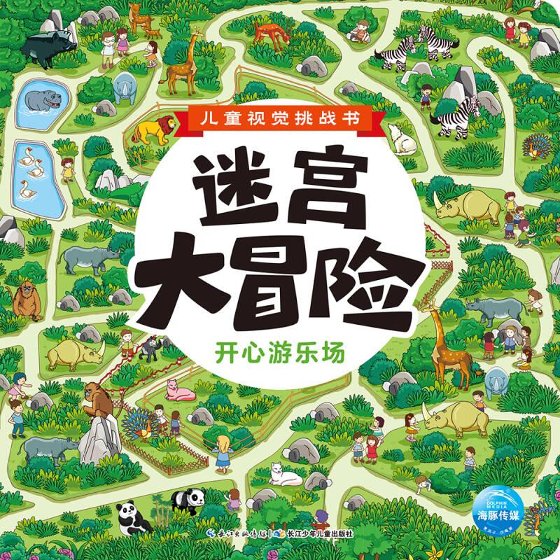 儿童视觉挑战书·迷宫大冒险: 开心游乐场