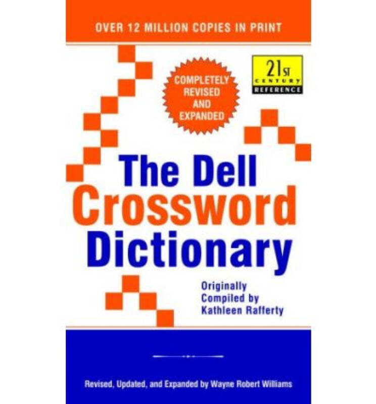 The Dell Crossword Dictionary [Mass Market Paper
