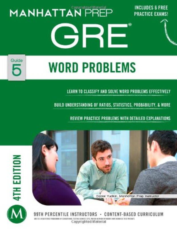 Word Problems GRE Strategy Guide, 4th Edition