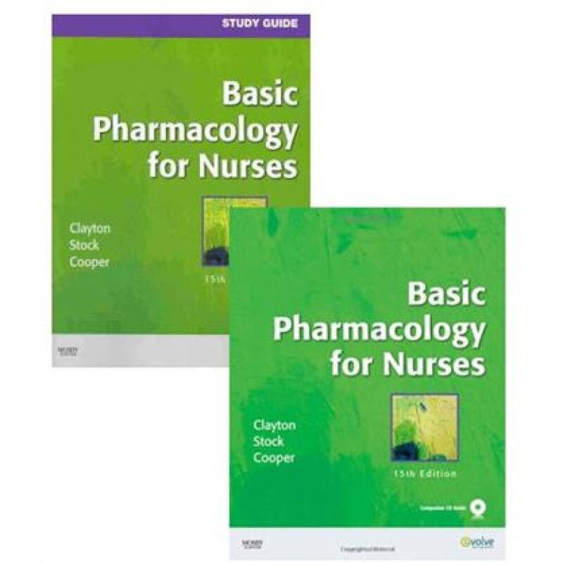 Basic Pharmacology for Nurses - Text & Study Guide Package护士基本药理学:教材与学习指南包
