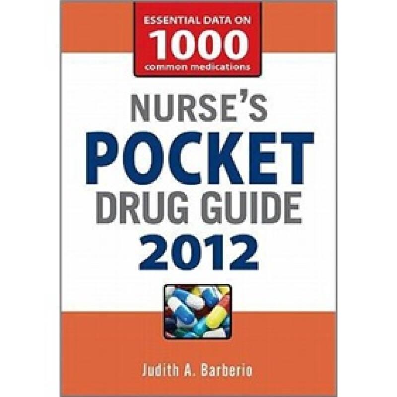 Nurses Pocket Drug Guide 2012