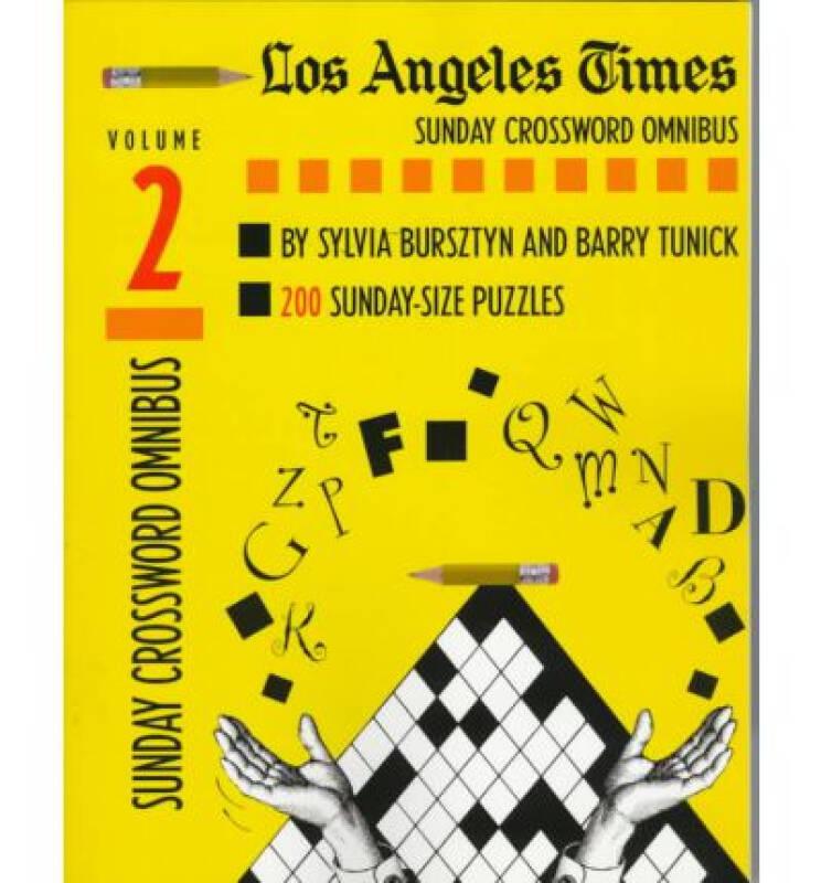 Los Angeles Times Sunday Crossword Omnibus, Volu