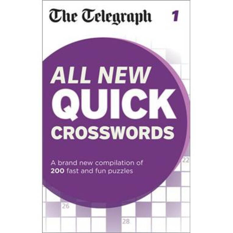 The Telegraph All New Quick Crosswords: 1