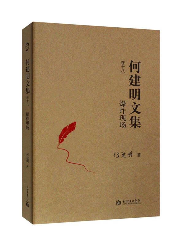 何建明文集(30卷)卷十八:爆炸现场