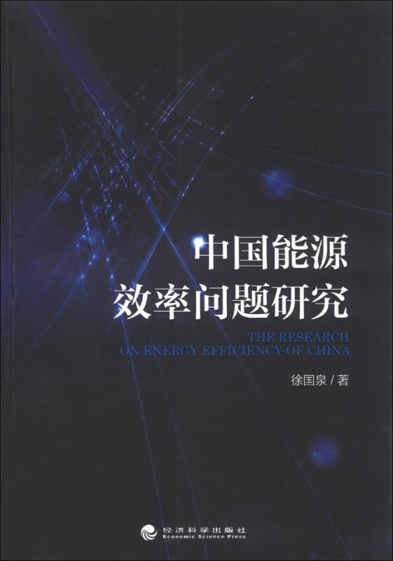 中国能源效率问题研究
