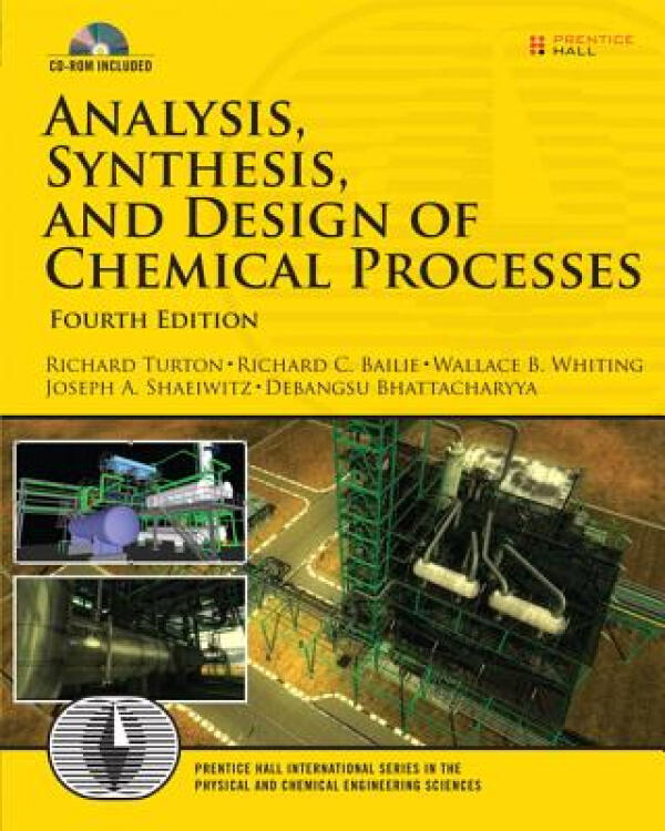 Analysis,SynthesisandDesignofChemicalProcesses