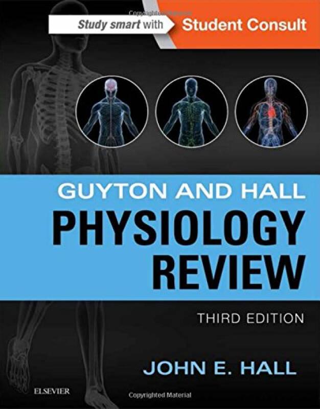 Guyton & Hall Physiology Review生理学回顾,第3版