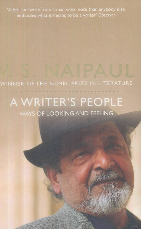 A Writers People: Ways of Looking and Feeling