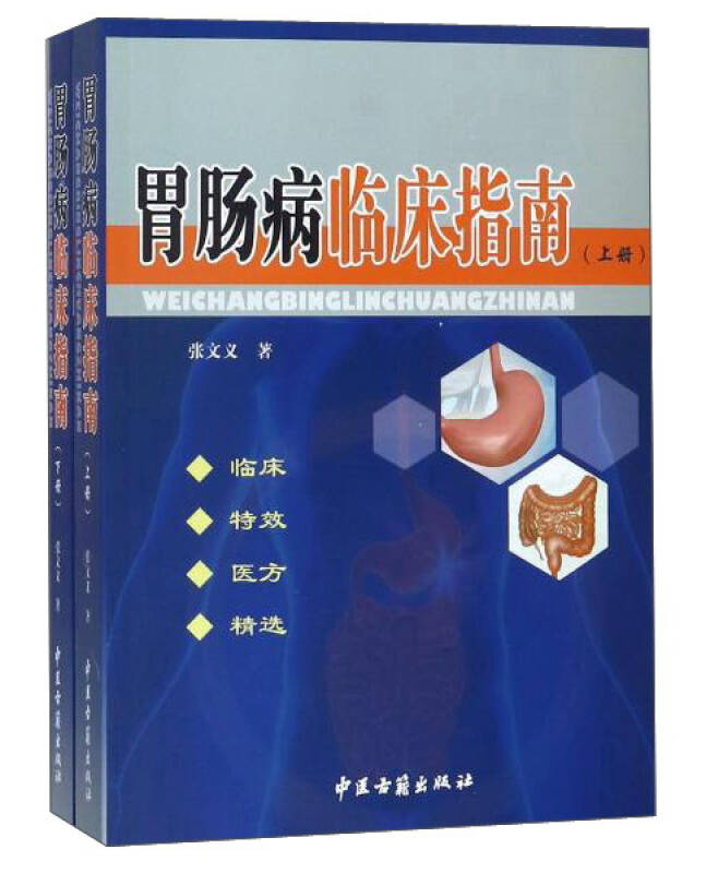 胃肠病临床指南(套装上下册)